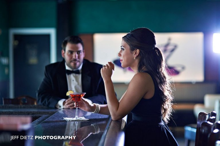 Elegant Engagement Session – Scranton Radisson Lackawanna Station