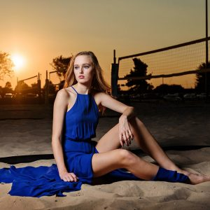 Sofi – Girls Volleyball Fashion Portraits – McKinney North Sports Photos