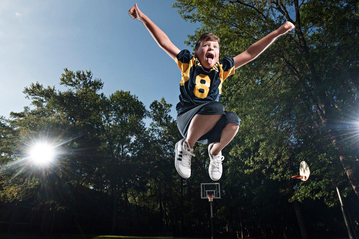 Valley Creek Elementary student basketball photos