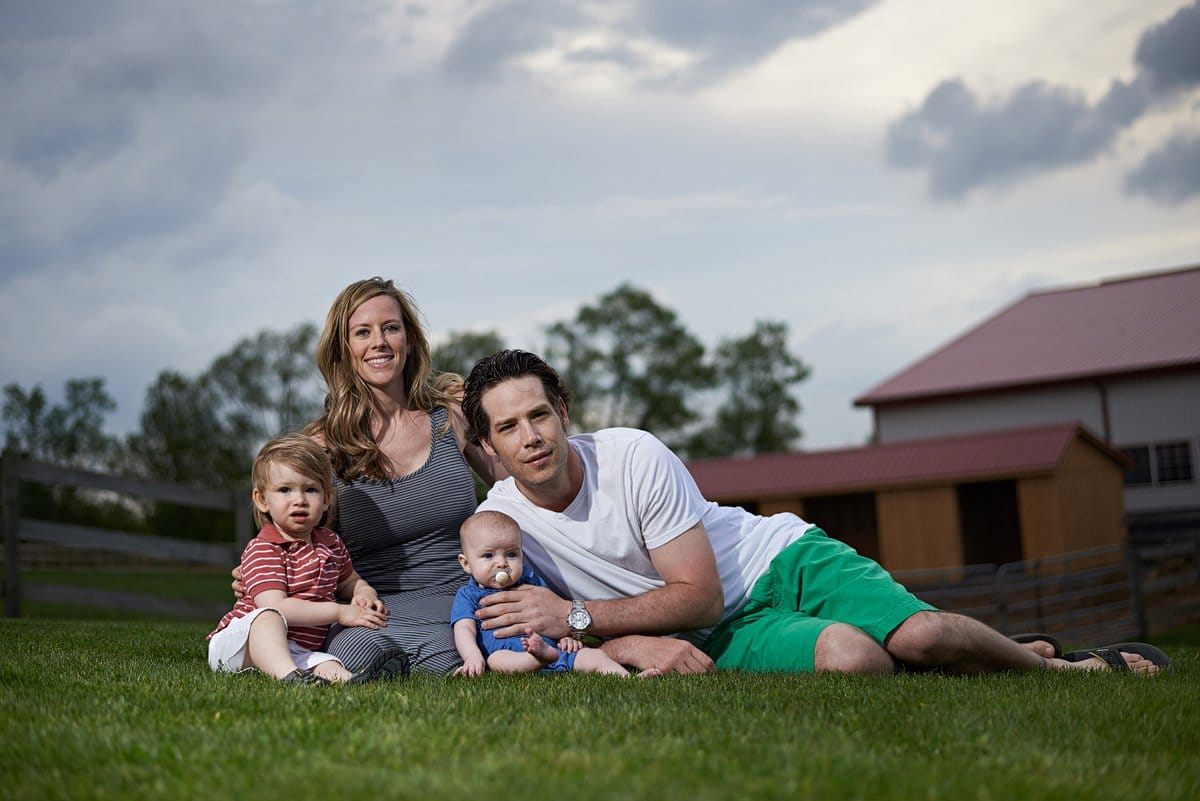 family portraits on the farm in mckinney tx