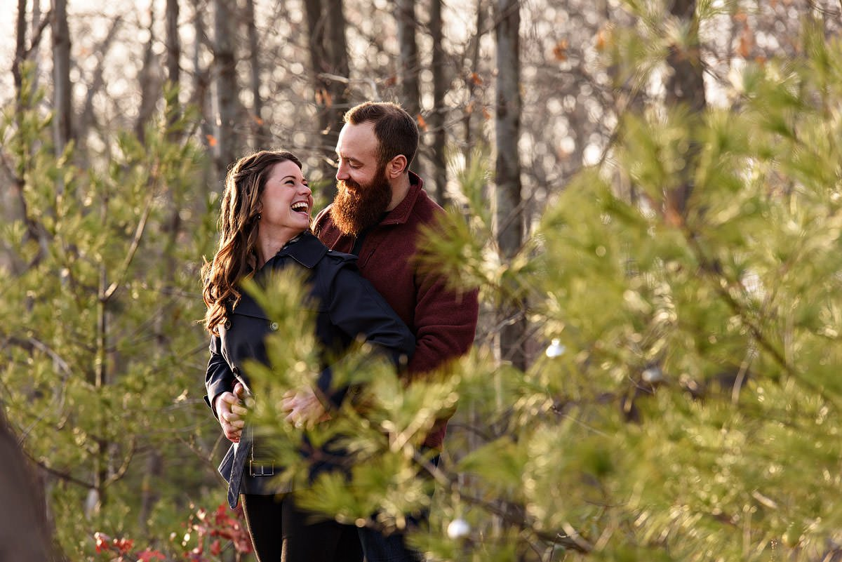 dallas engagement photos with couple in trinity grove park