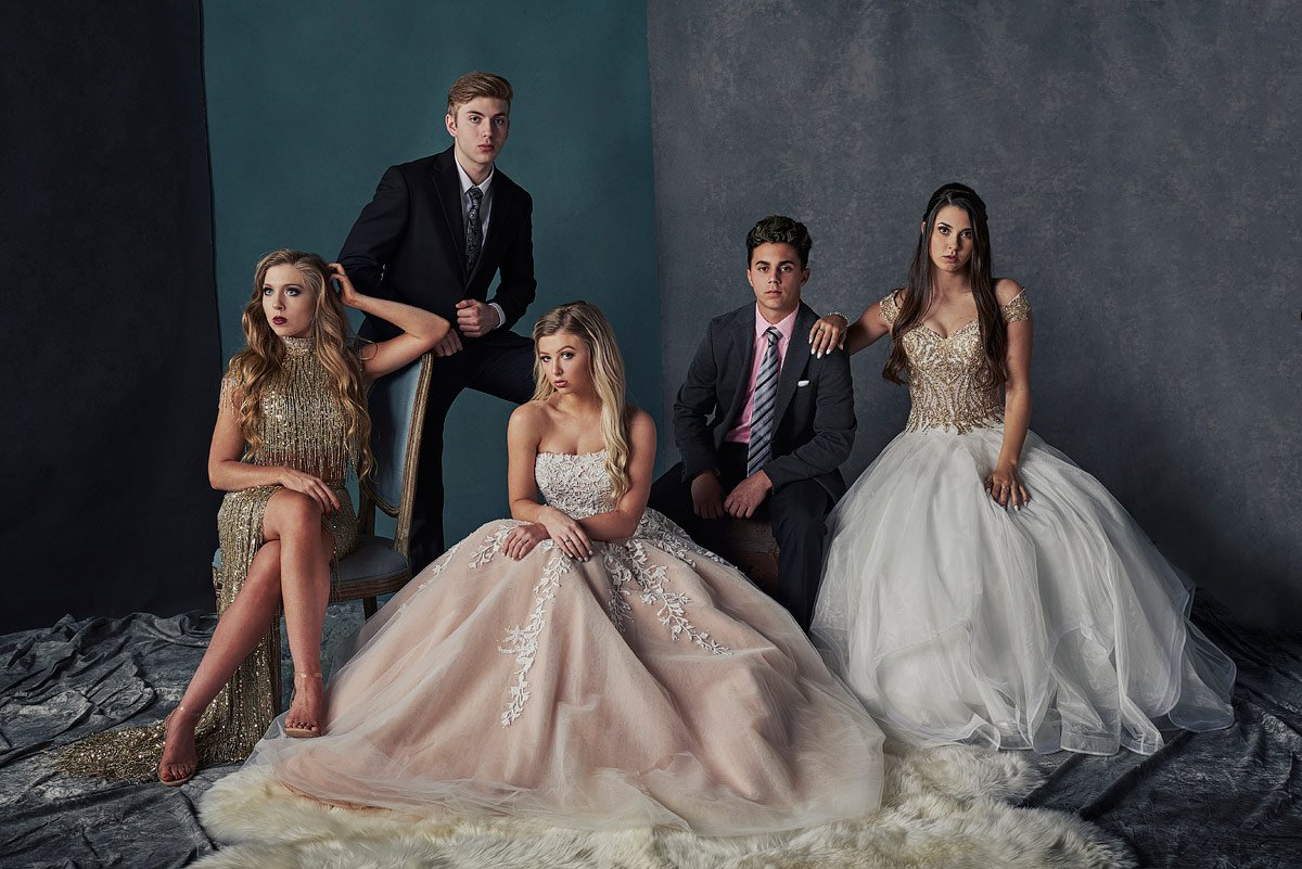 sherri hill gowns for dallas prom group photos with terry costa dresses