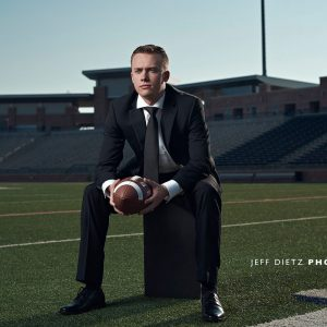Zach's Senior Sports Fashion Photos – Allen TX Football