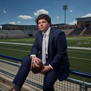 Allen Football Senior Fashion Sports Photos – Nick Trice