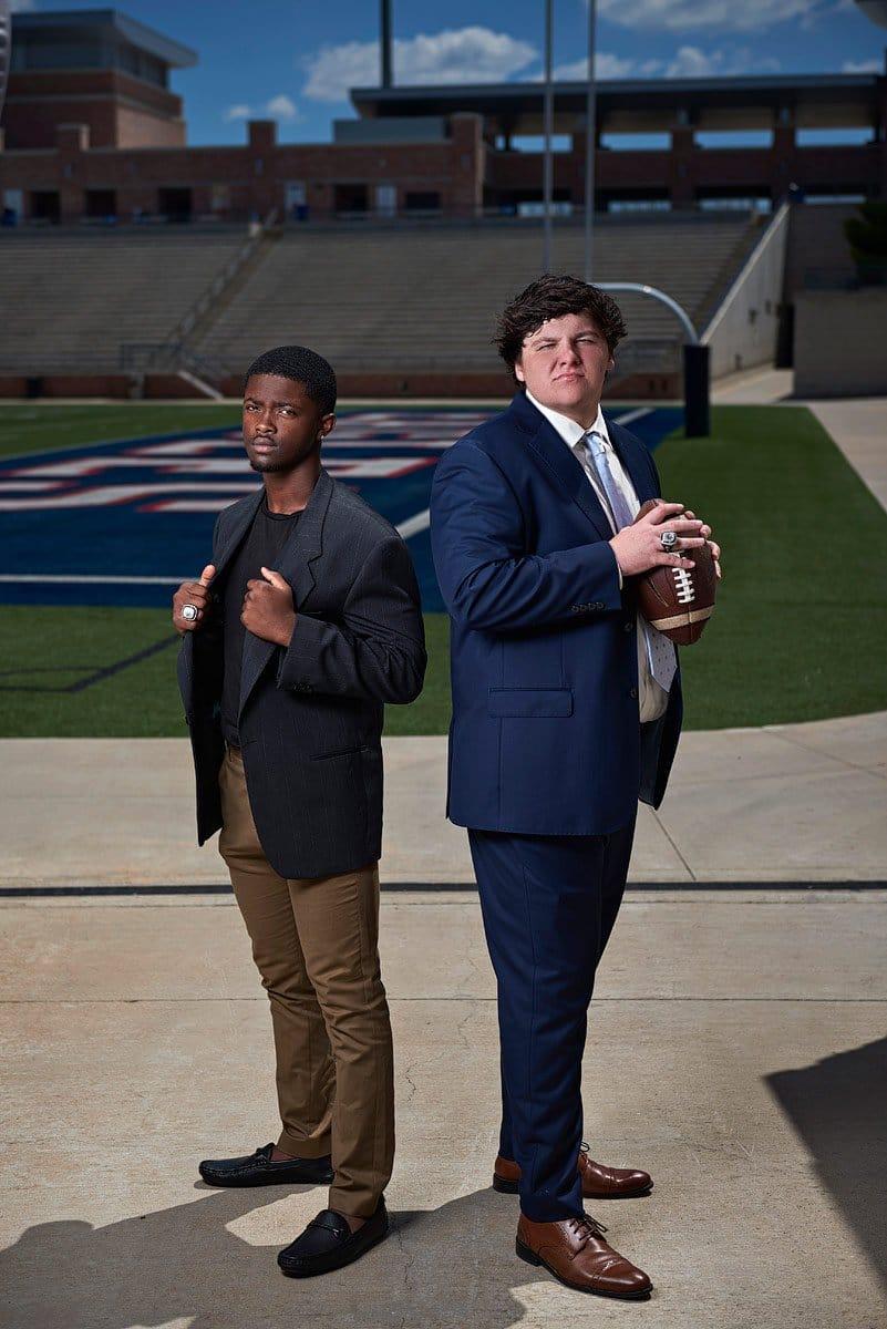 Allen football seniors friends photos texas football