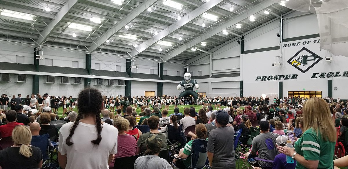 meet the eagles at prosper football opening night 2018
