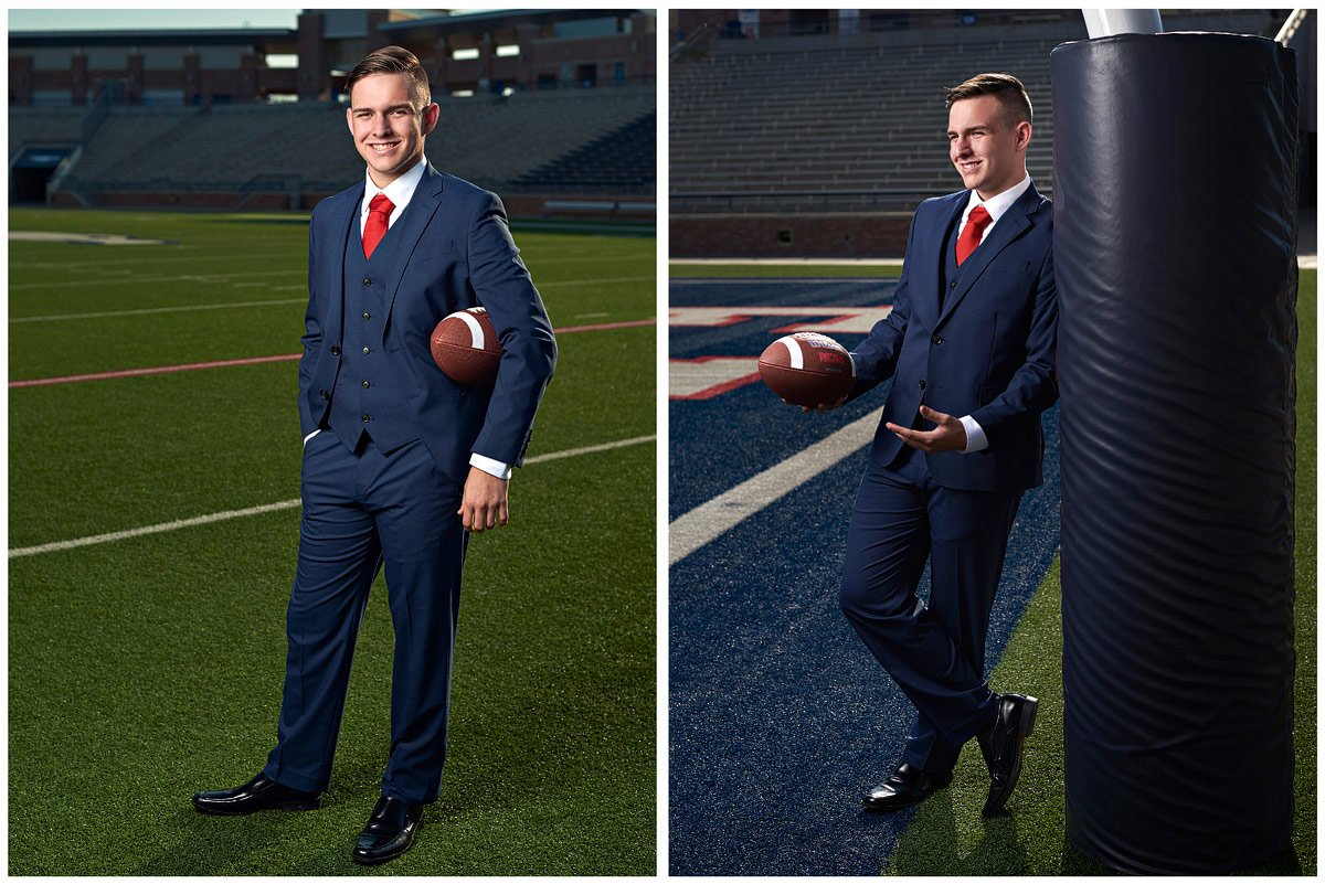 allen football photos senior linebacker sports portraits