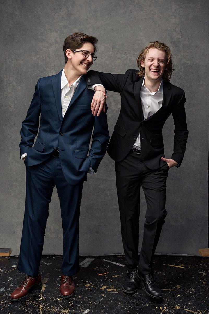 mckinney high school senior portraits of theater students