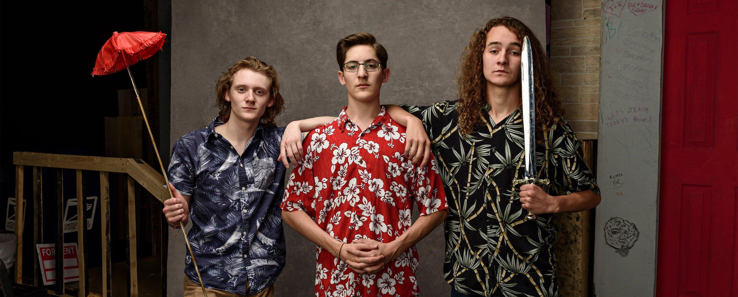 mckinney high school senior theater program students
