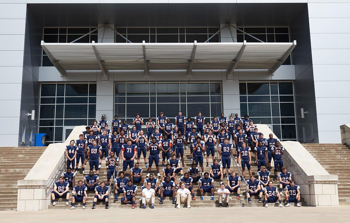 Allen Senior Pictures 2019 Allen Eagles Varsity Team Photo