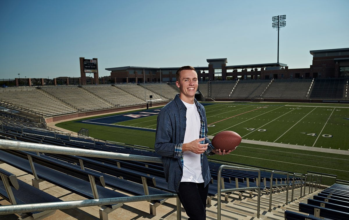 Allen football stadium senior portrait location