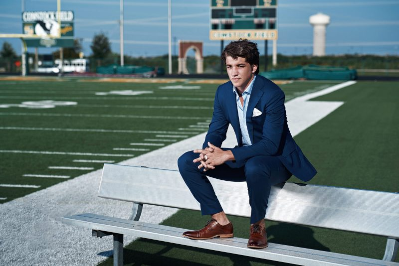 Frisco Senior Pictures - Guys portraits for Football, athletes and more