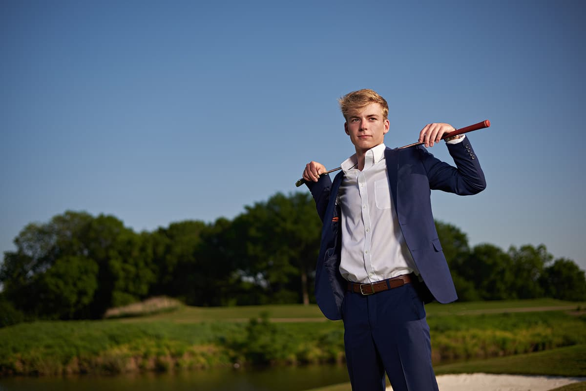 country club senior portraits southlake texas