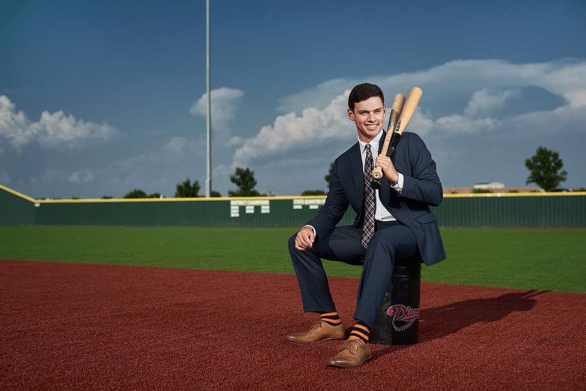 Suits for senior men's style guide for dallas senior portraits mckinney north baseball