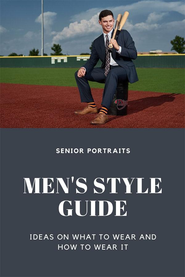 dallas senior portraits mens style guide banner