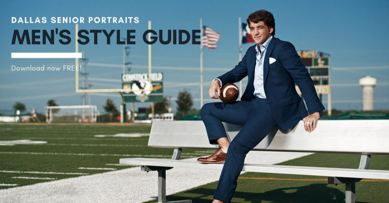 men style guide dallas senior portraits banner