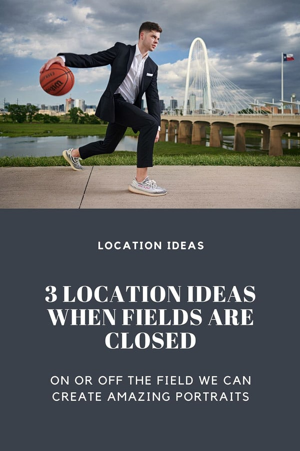 3 dallas senior portrait locations for when the fields are closed banner