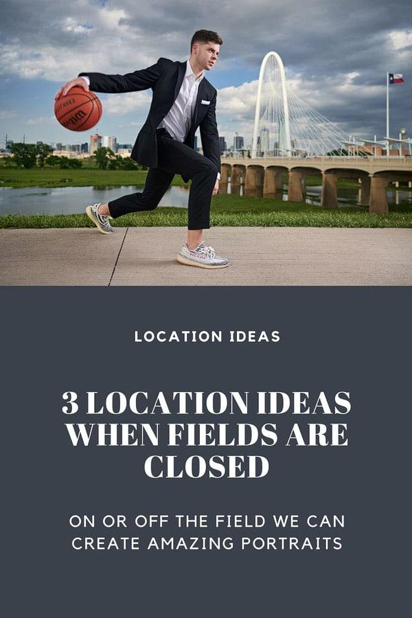 3 dallas senior portrait locations for when the fields are closed banner